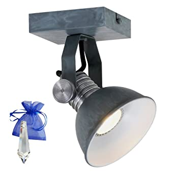 Plafond Pour Celle Ou Gris Brooklyn Gu10 Mur Ampoule Led W 7 Spot qMzpGSUV