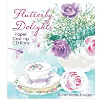 Debbi Moore Flutterby Delights Papercrafting CD ROM (327775)