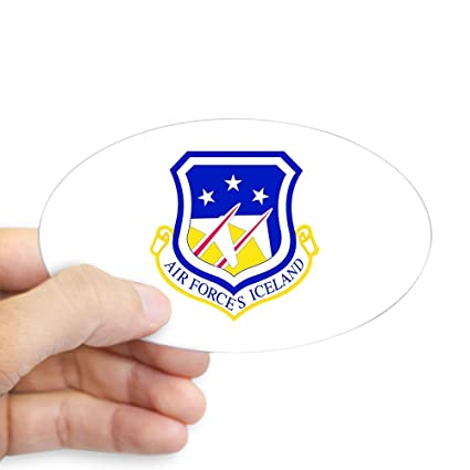 Amazon Com Cafepress Air Forces Iceland Oval Sticker Oval