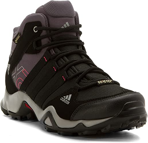 adidas Outdoor Men's Ax2 Mid Gore Tex Hiking Boot, Dark