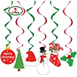 Party Propz Christmas Swirls Hanging (Set of 6)