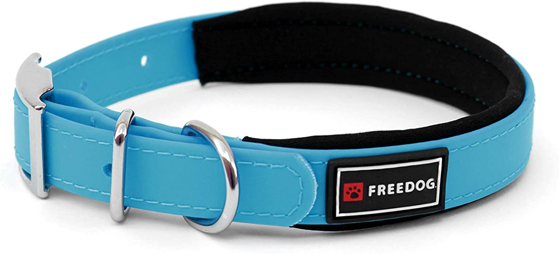 Freedog Collar Perro Ergo PVC con Acolchado Neopreno 15x35cm (Rosa ...
