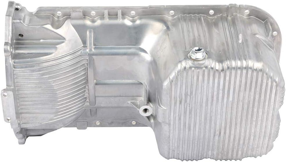 FEIPARTS Engine Oil Pan for 01-11 Hyundai Elantra Tiburon Kia Soul Spectra5 2.0L OE Solutions HYP06A 21520-23601 Oil Drain Pan