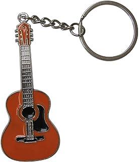 2503-25353-Llavero «Guitarra española» en madera 7,5 ...