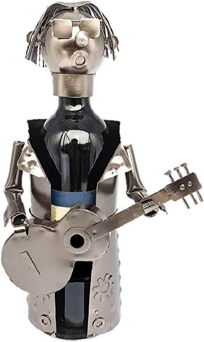 Flaschenhalter Weinflaschenhalter Rockstar Musiker Gittarre Flaschenständer