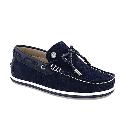 Mayoral Mocasines de Ante Para Niño Azul Turquesa Azul Size: 33 EU: Amazon.es: Zapatos y complementos