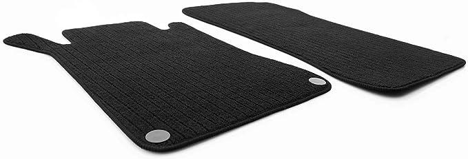 Kh Teile Fußmatten W209 C209 A209 Clk Amg Original Qualität Rips 2 Teilig Schwarz Auto