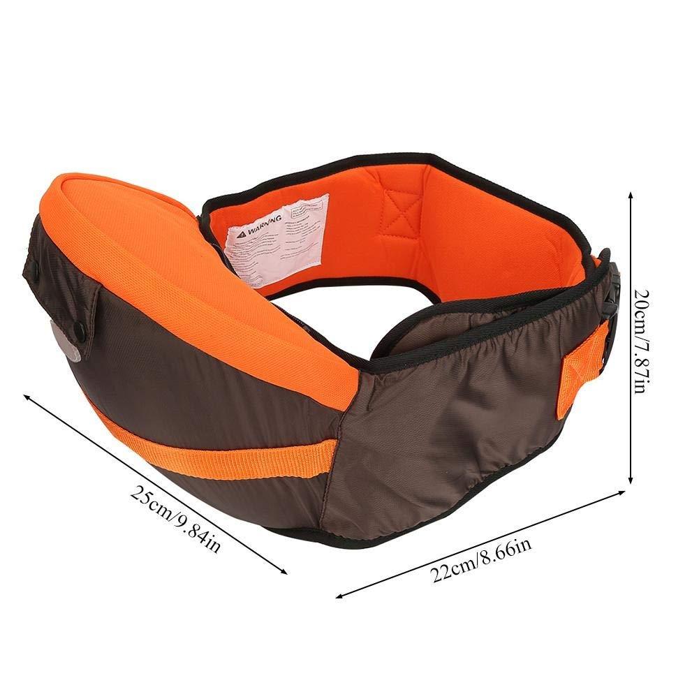 Delaman 5-in-1 Bethbear Multifunzionale Neonato Attivit/à ZainiPortanti Hip Seat Colore : Brown Marsupio