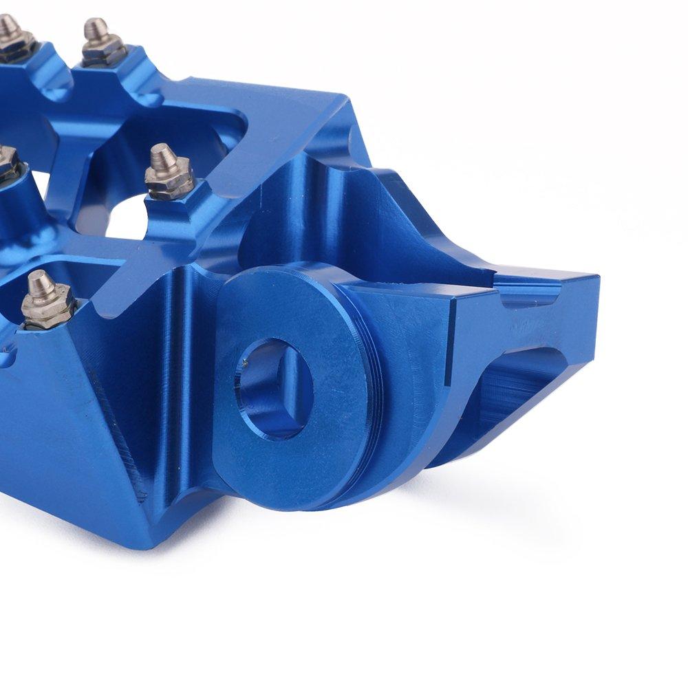 Naranja Moto CNC MX Foot Pegs Footpegs Rest Pedales para KTM 85 125 150 250 300 350 450 530 SX-F EXC EXC-F XC-F XC-W