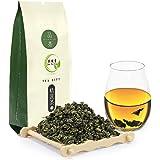 Yan Hou Tang Organic Chinese Green Oolong Tea Anxi Tieguanyin Fujian Classic Iron Goddess of Mercy Tea Loose Leaf for Energiz