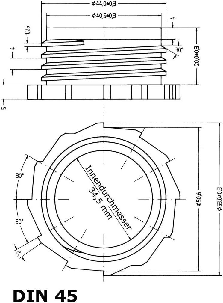 1,64 EUR//Stück 12 x 5l Leerkanister NEU mit Sicherh.verschluss-Lebensmittelech