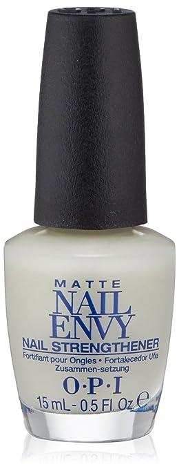 Amazon.com: OPI Nail Envy Nail Strengthener, Matte: Luxury Beauty