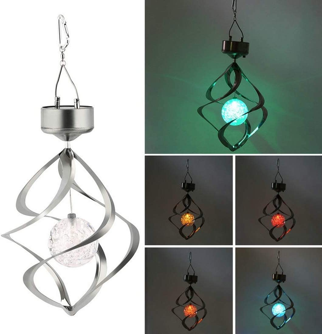 Original Deals LED Color Changing Solar Wind Chime Light for Gardens, Patio, Backyard Decor for Your Home
