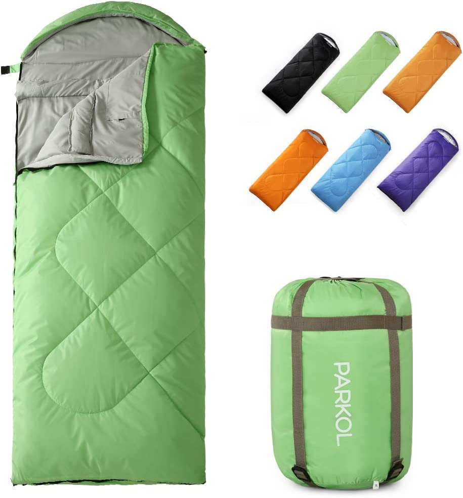 Camping Backpacking for Adults Teen Girls Boys Hiking STONCEL Sleeping Bag for Indoor /& Outdoor Use-Waterproof Lightweight Portable Sleeping Bag Great for for 4 Season Traveling