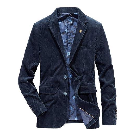 CLOOM Blazer Uomo, Blazer Uomo Slim Fit, Blazer d'Affari