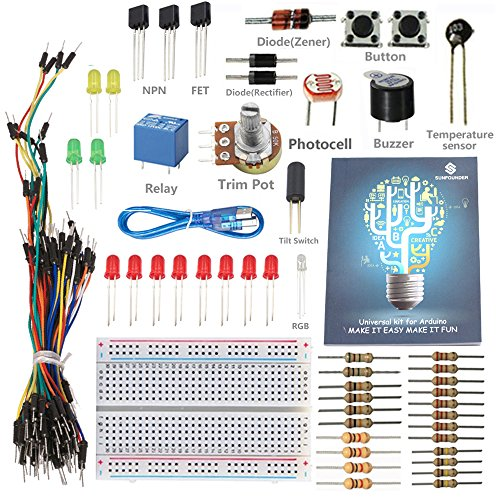 Sunfounder project universal starter kit for arduino uno