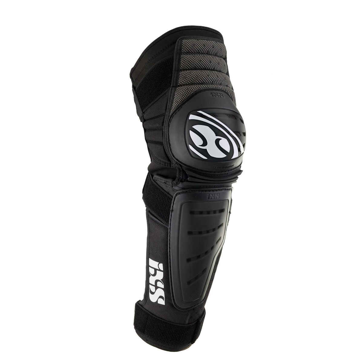 IXS Cleaver Knee/Shin Guards black (Size: XL) leg protector by IXS (Image #1)