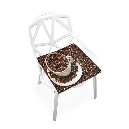 Amazon.com: Pingshoes - Cojín para asiento de café, puf y ...