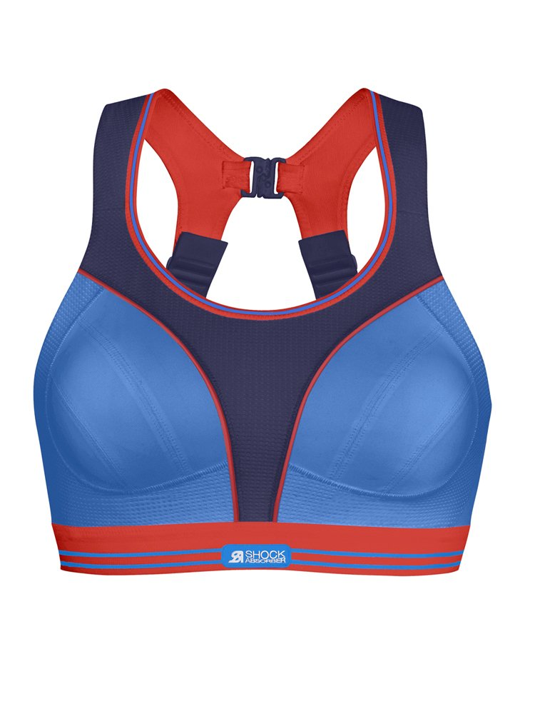 Shock Absorber Ultimate Run Sports Bra (S5044) 30A/Purple Sensation/Blue