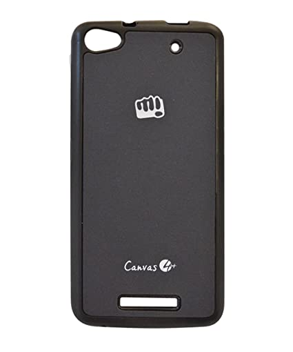 new style ffaa5 3debd COVERNEW Back Cover for Micromax Canvas 4 Plus A315: Amazon.in ...