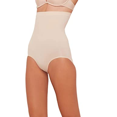 a93243b442949 Spanx Womens Nude  Power Series  High-Waisted Briefs  Spanx  Amazon ...