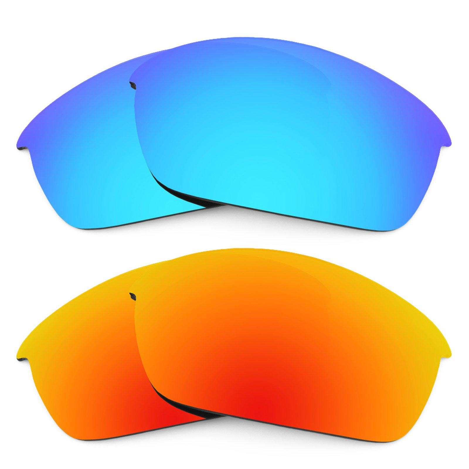 Revant Replacement Lenses for Oakley Flak Jacket 2 Pair Combo Pack K002 by Revant