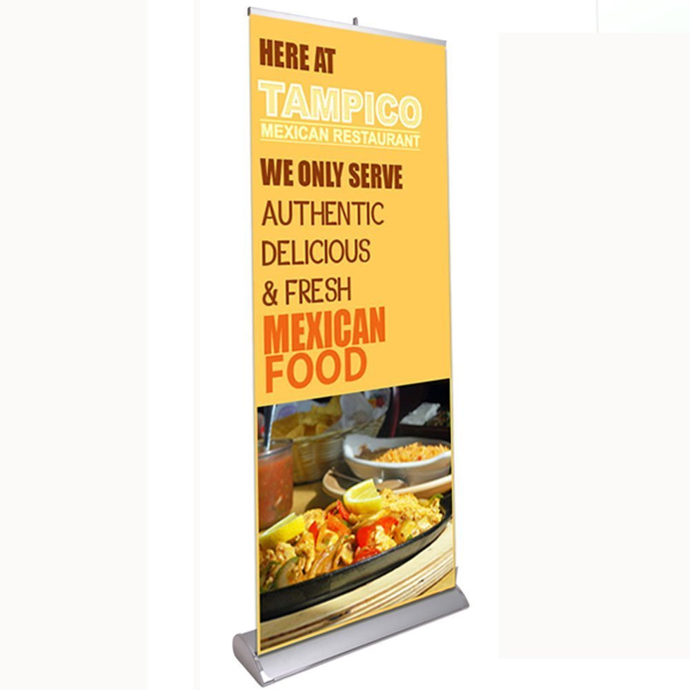 33'' x 79'' Luxury Rollup Retractable Banner Stand