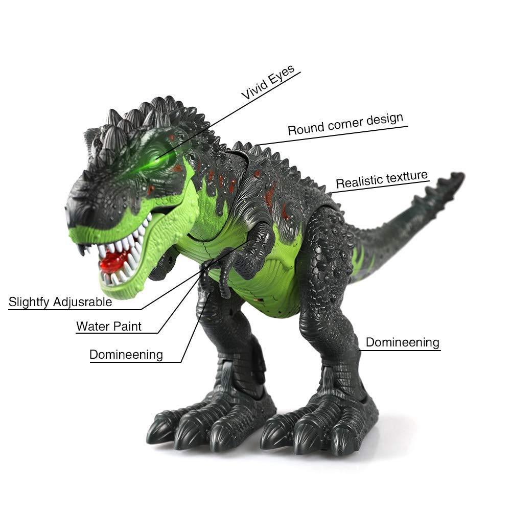ERollDeep Dinosaur Toys, Electronic Dinosaur Toys Walking Dinosaur with Flashing & Sounds for Boys (Large) by ERollDeep (Image #5)