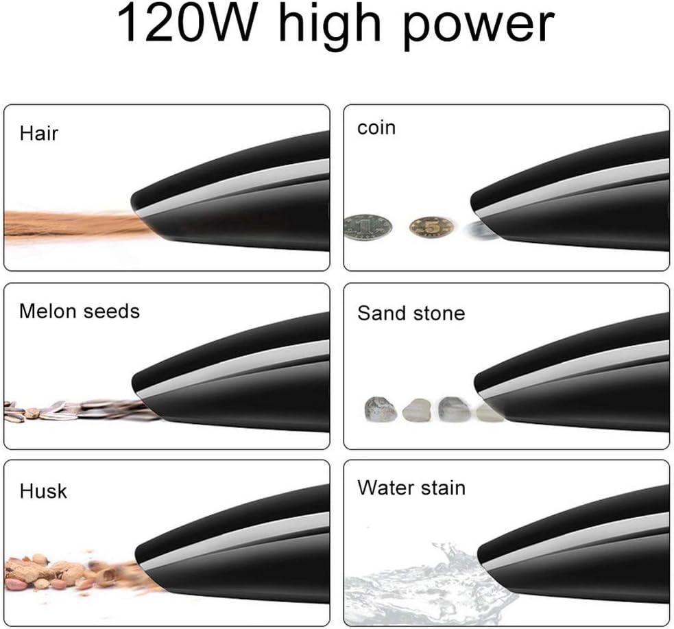 JSX per Auto Portatile Aspirapolvere, 5 meterLine Umido e Secco a Doppio Uso Aspirapolvere per Auto Clean Car 120W palmare Manutenzione B