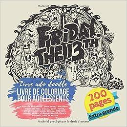 Livre De Coloriage Pour Adolescents Plus De 200 Pages