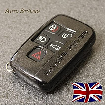 Key Cover Case for Range Rover Smart Remote Fob 5 Button Sport Evoque Vogue LR4 iscovery 4 Land Rover Shell Red
