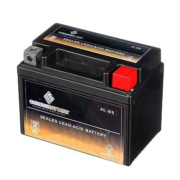Amazon.com: Batería recargable de cromo YTX4L-BS para ...