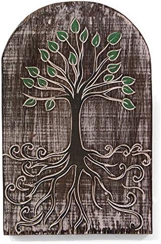 Árbol de la vida tallado letrero para el hogar o el jardín regalo – Jardín del Edén. Este es un gran signo para su hogar, quinto cobertizo, invernadero, jardín, árbol: Amazon.es: Jardín