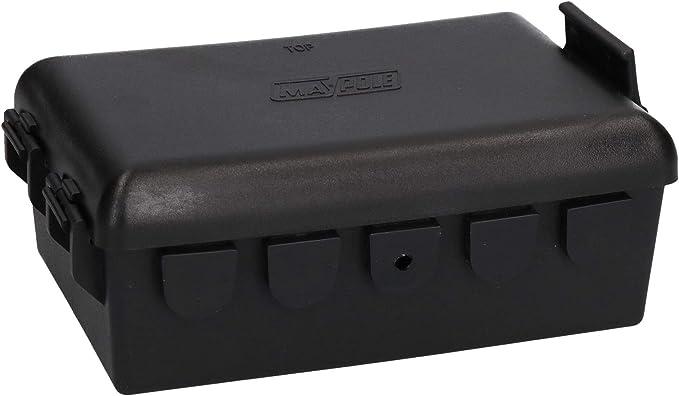 AB Tools Caja de Empalme eléctrico de iluminación del Remolque de 10 vías - Impermeable: Amazon.es: Coche y moto