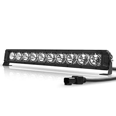 AutoFeel LED Light Bar 22 Inch With Daytime Running Light 10000LM Super Bright Osram Chips Off Road Driving Fog Light for Truck ATV SUV Jeep Boat: Automotive