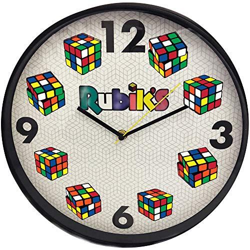 (BRAND PARTNERS GROUP Rubik's Cube Quartz Wall Clock - 12