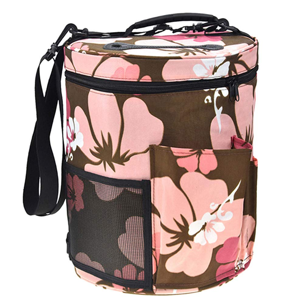 2018 Tote Bag Storage Knitting Tool Yarn/&Wool Organizer Portable Lightweight