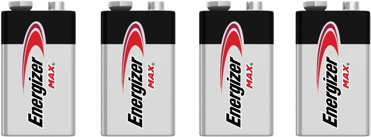Energizer E522 Max 9V Alkaline battery - 4 Count