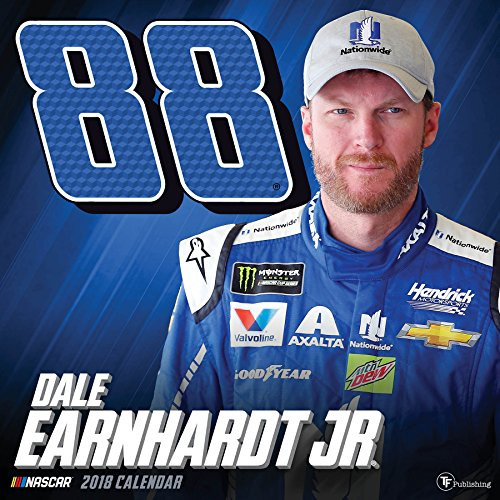 2018 Dale Earnhardt Jr: The FINAL Season Wall Calendar