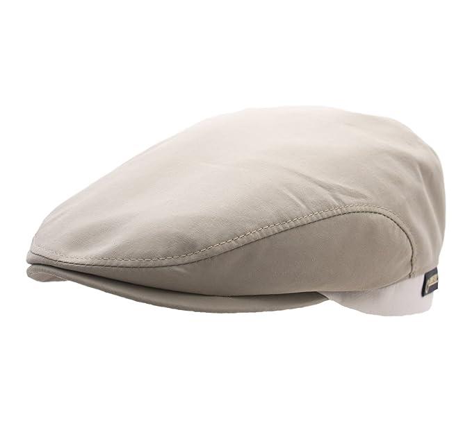9978c682ba9 Wegener - Flat Cap Men Dennis - Size L - Beige  Amazon.co.uk  Clothing
