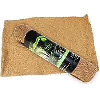Unicoco Reptile Carpet Substrate Bedding Pet Supplies Coconut Fiber Reptile Terrarium Liner Mat Reptile Palm Mat