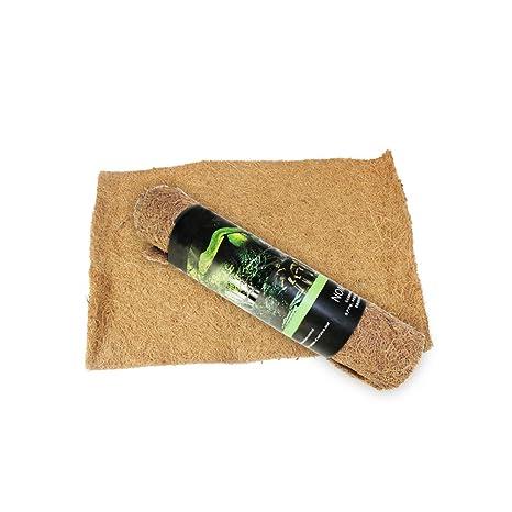 Reptil alfombras de Cama sustrato de Fibra de Coco Alimentos para ...
