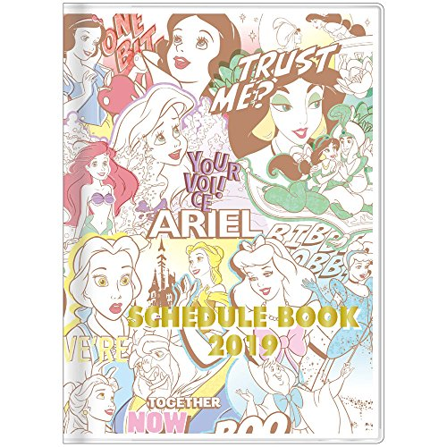 - Star Stationery Disney Princess Schedule Planner Diary 2019 A6 Monthly S2946955 2018 October Start