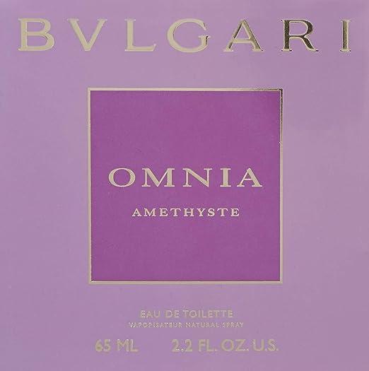 d2667aa6d3b4d Amazon.com   Bvlgari Omnia Amethyste By Bvlgari For Women Eau De Toilette  Spray