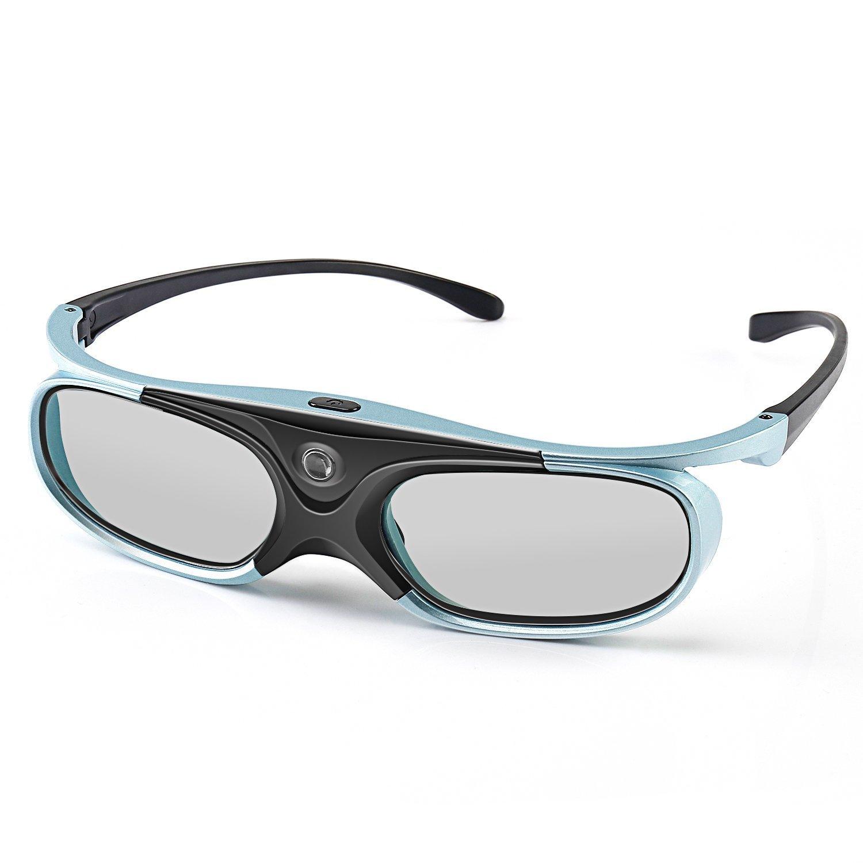 3Dメガネ、APEMAN DLPシリーズメガネ充電式ハイブライトネス/ハイコントラストすべてのDLP 3Dプロジェクターに対応 B01DTV63MA