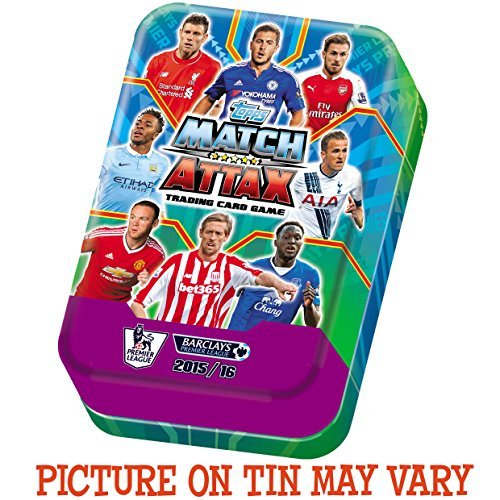 Topps Match Attax 2015 2016 Midi Mega Collector Tin (UK version) by Match Attax by Topps