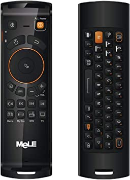 Computer Mele F10 Deluxe 2.4GHz Fly Air Mouse Control Remoto ...