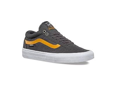 4c0c9a282e Vans Men s TNT SG Pewter Sunflower Skateboarding Shoes (US ...