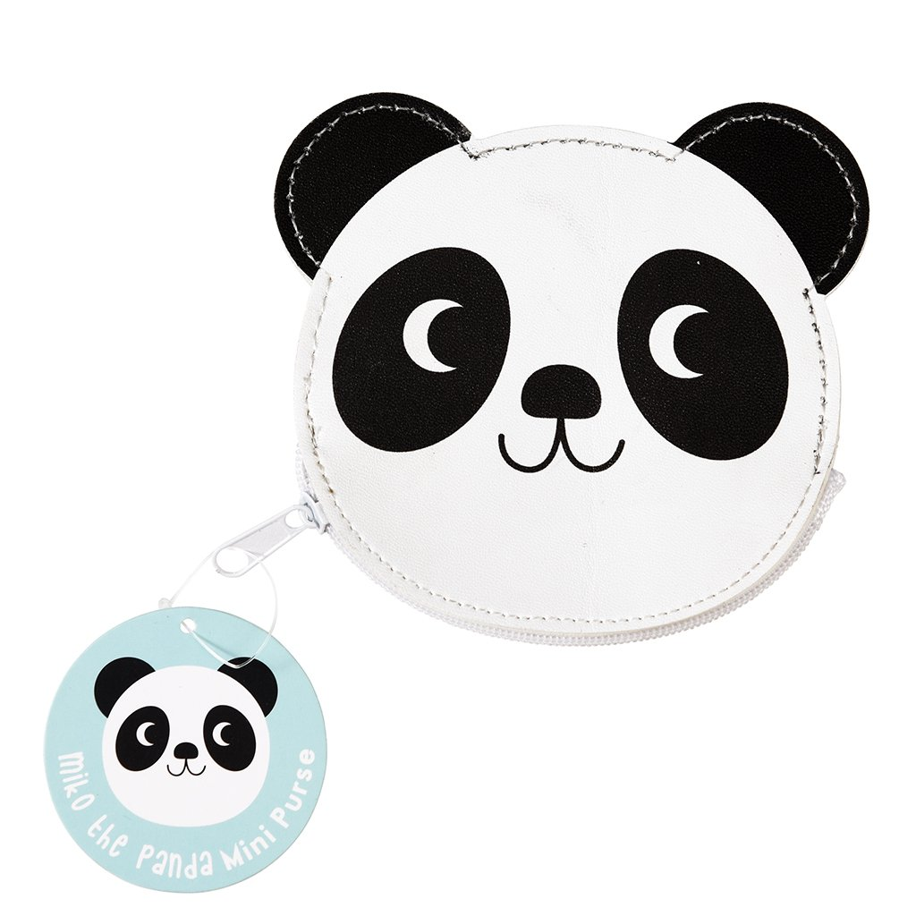 Miko The Panda Vinyl Purse