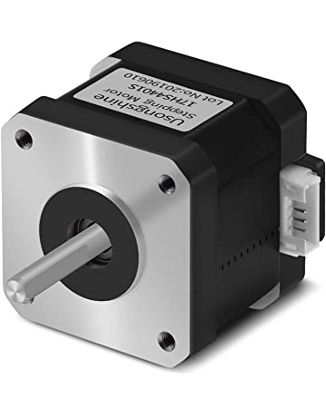 Motor for CNC XYZ 3D Printer 17HS4401S Usongshine 3PCS 4 Lead Nema17 Stepper Motor Nema 17 Motor with 1m Cable 42BYGH 38MM 1.5A